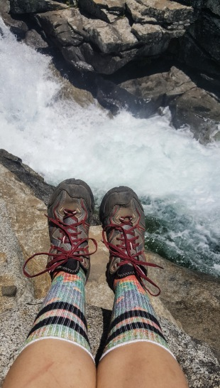Edge of Horsetail Falls