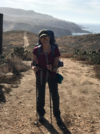 Happy hiker