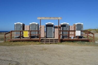 Parsons Landing Port-a-Pottie Row